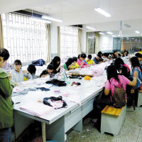 服装制作与设计专业